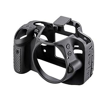 walimex pro EasyCover - Carcasa para Nikon D3300, Negro