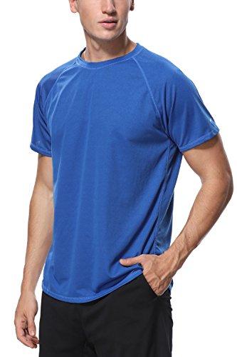 V for City Mens Short Sleeve Rash Guard Adult UV Swim Shirt Loose Fit Swimsuit Navy XXL (Shirts Tee Swim Adult)