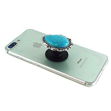 Turquoise Western Turquoise Teardrop Phone Holder Self Adhesive Charm Grip