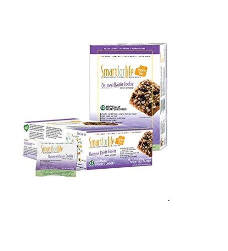 Smart for Life Cookie Diet Meal Replacements Oatmeal Raisin - 12 ct.