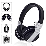 BOOMdan Gaming Headset with 7.1 Surround Sound PC Headset with Noise Cancelling Soft Microphone & Light - Over Ear Headphones Compatible with Xbox One ControllerPS4 - Nintendo Switch - PS2 (Black)