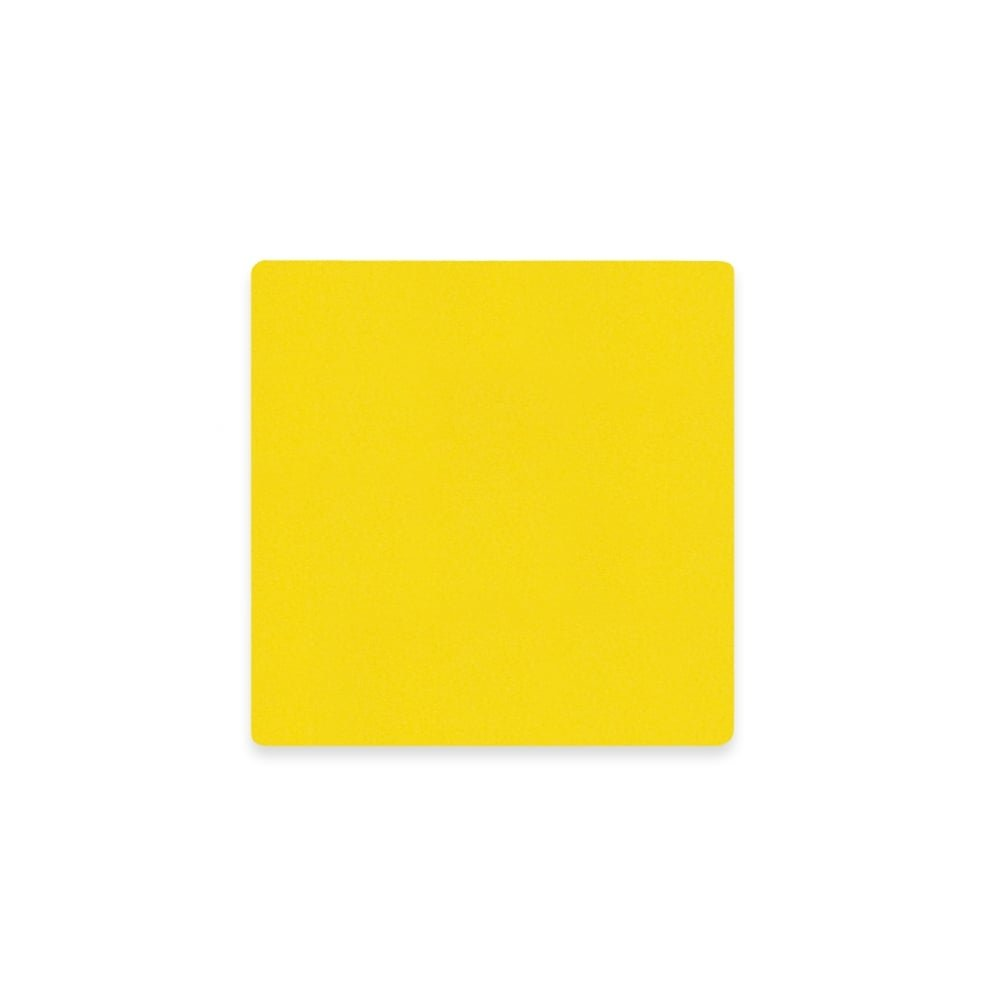 Aimant Experts Mf7575(Yed) -100Feuille aimantée flexible W/Surface brillant effaçable à sec, Jaune (lot de 100)