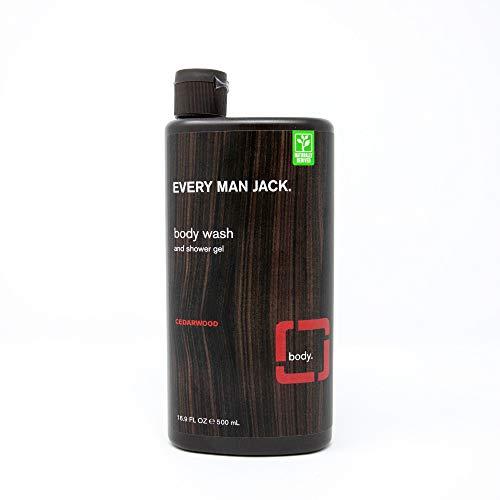 Every Man Jack Body Wash and Shower Gel Cedarwood, 16.9 Ounce