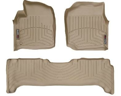 1998-2007 Toyota Land Cruiser Tan WeatherTech Floor Liner (Full Set)