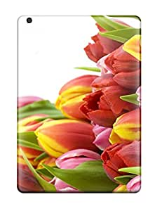 Special Design Back Flower Phone Case Cover For Ipad Air