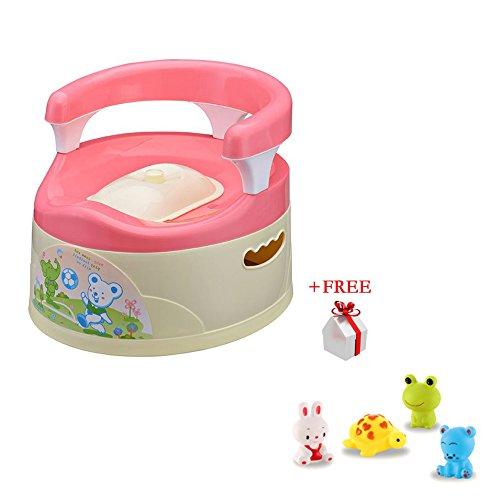 Baby Toddler Potty Toilet Seat Training Chair Kids Children Trainer Pedestal (pink) -
