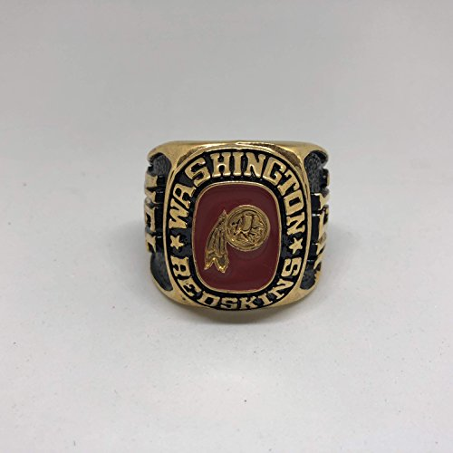 Washington Redskins High Quality Replica Balfour Handcrafted Ring Size 30 Paperweight-Gold Colored Officially Licensed by League (House Paperweight)