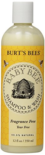 Burt's Bees Baby Shampoo & Wash, Fragrance Free, 12 Ounces (Pack of 3) (Packaging May - Discount Hair Products