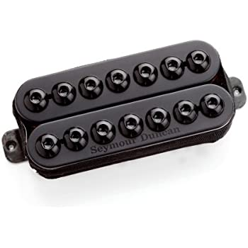 Seymour Duncan Invader 7 String Neck Black Metal Cover Gitaren, bassen, accessoires 1 SET OF STRINGS