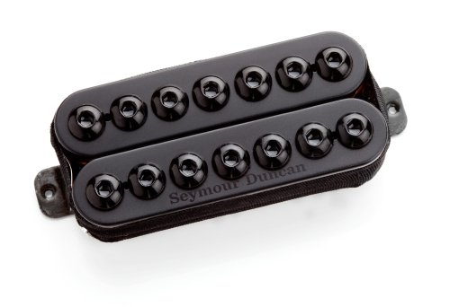 Seymour Duncan Invader 7-String Passive Guitar Pickup Black Bridge