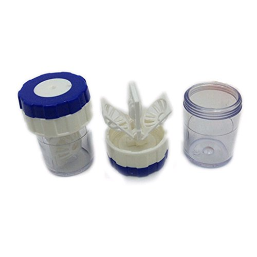 Gaosaili Manually Contact Lens Cleaner Cleaning Lenses Case