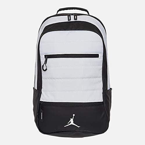 (Nike Jordan Jumpman Airborne White Laptop Backpack )