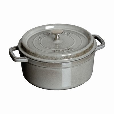 7-Qt. Round Dutch Oven Color: Graphite by Staub