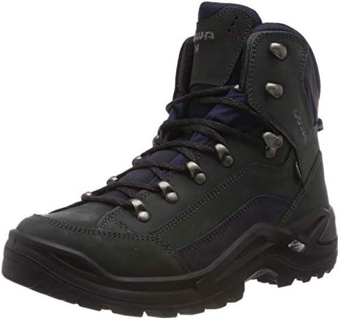 Lowa Men s Renegade GTX Mid Hiking Boot,Dark Grey Navy,9 W US