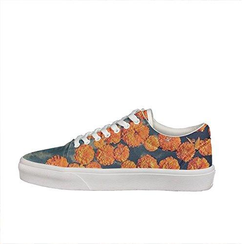 color copy marigolds Women Casual sneakers Canvas Classic Fashion Low Top - Fuentes Sunglasses
