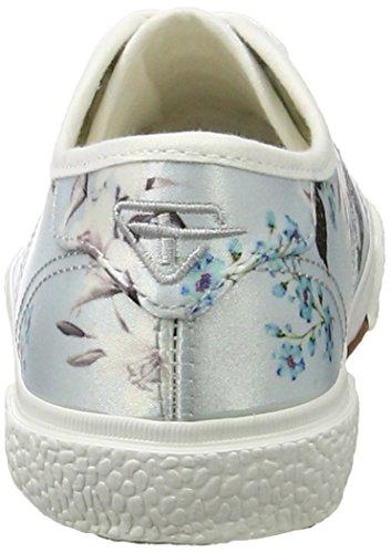 28 Floral 23610 blue Zapatillas 875 Multicolor 979 1 Tamaris Mujer 1 qwF4tC