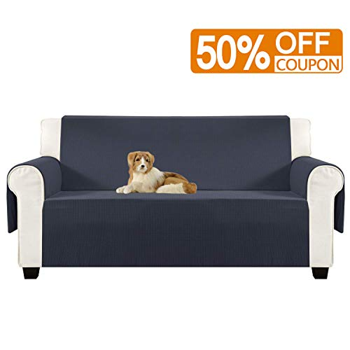 Aidear Anti-Slip Sofa Slipcovers Jacquard Fabric Pet Dog Couch Covers Protectors (Sofa, Gray)