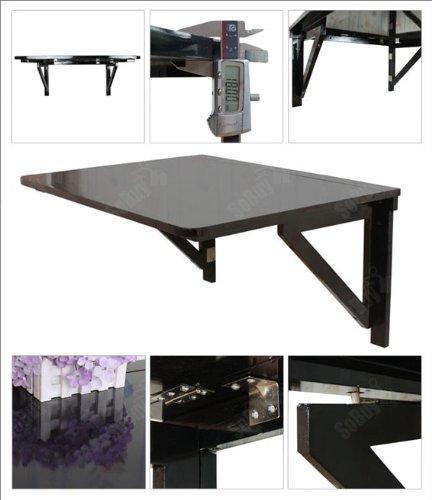 Sobuy Wall mounted Drop leaf Table Folding Dining Table  : 41ZBn8nMVUL from www.desertcart.ae size 432 x 500 jpeg 31kB