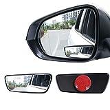 Livtee Framed Rectangular Blind Spot Mirror, HD