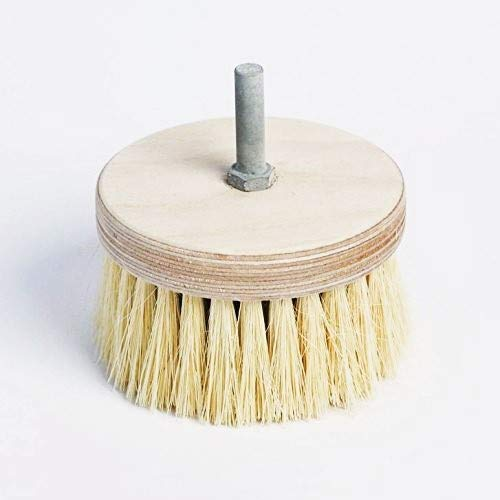 Pine Drill Brush - Ideal for Polishing and Buffing Wax Surfaces Rest Express