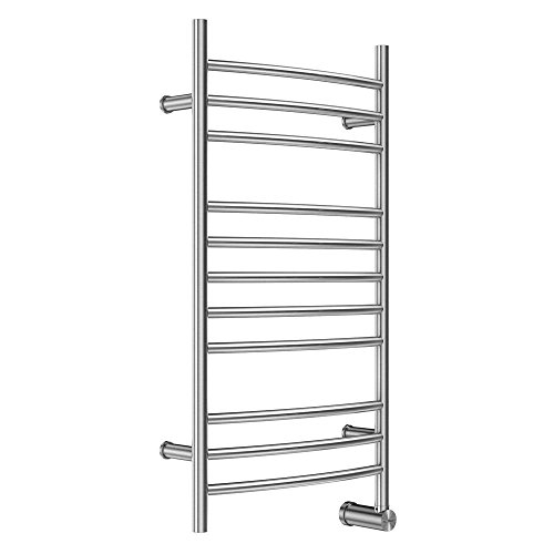 Mr. Steam W336SSB Wall-Mounted 39-Inch High by 20-Inch Wide 120-Volt Towel Warmer, Brushed Stainless Steel