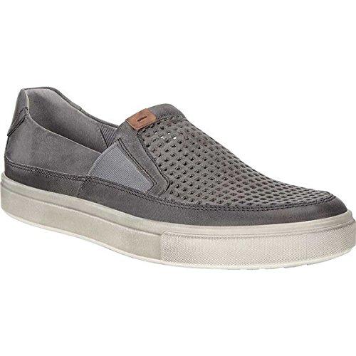 [エコー] メンズ スニーカー Kyle Perforated Slip On Sneaker [並行輸入品] B07F2YFM5G