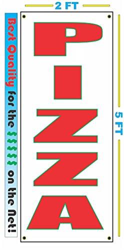 PIZZA VERTICAL Banner Sign