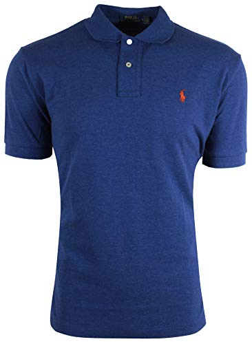 Polo Ralph Lauren Classic Fit Mesh Polo (Small, Newport Navy)
