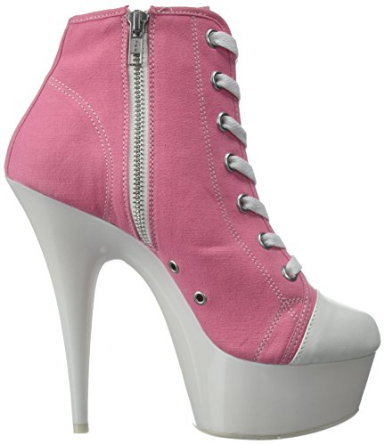 White Canvas 02 neon Pink Delight 600sk Pleaser aqAZS0
