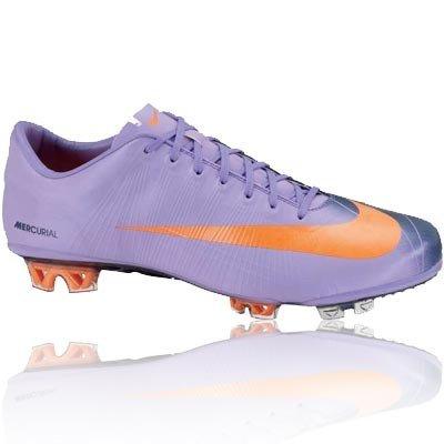 Nike Mercurial Superfly II-Calcetines de fútbol para terrenos Duros, Morado (Violeta), 40.5: Amazon.es: Zapatos y complementos