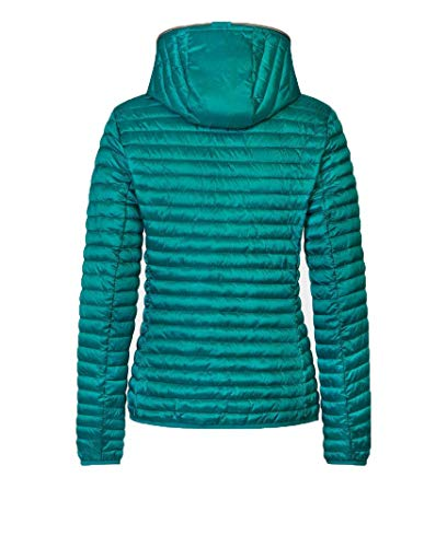 The Donna Save Duck Piumino Leggero Iris8 D3362w Blu Giubbetto Verde Colore 00009 fOq7qwxZn