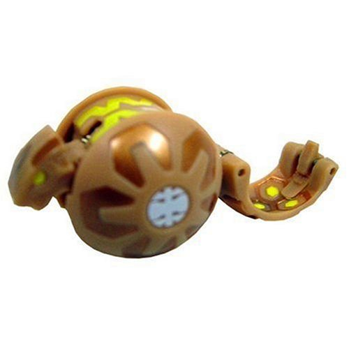 Bakugan Single LOOSE Figure Sub Terra SERPENOID Brown ()