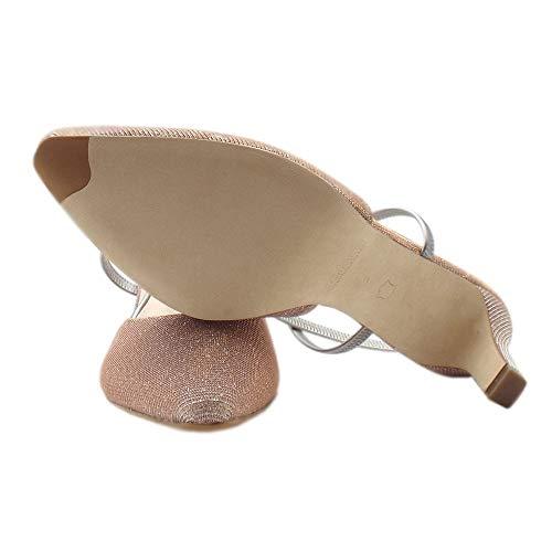 Peter Mitty Powder Shimmer Shimr Polvere In Sandali Kaiser Elegante zrx6zf