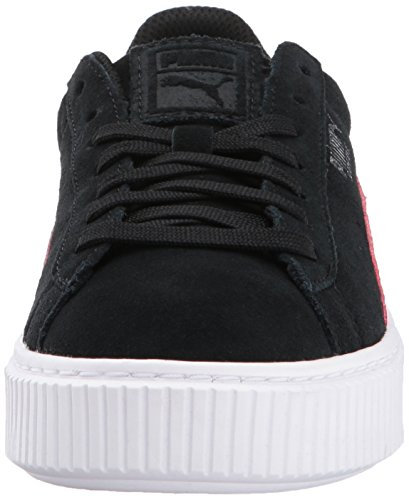 Platform Little 12 Us Suede love Puma Kid kids Unisex M Potion 5 Snk Black gx7I8