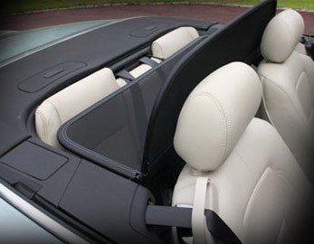 Mina Gallery Convertible Wind Screen Deflector for Jaguar XK XKR 2007-2015 models