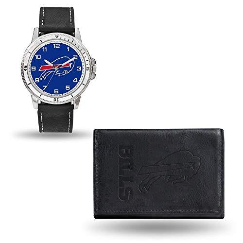 (Rico NFL Men's Watch and Wallet Set WTWAWA3501, Buffalo Bills)