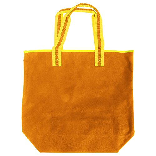amarillo Palma Estilo Bolsa Moderna Modelo Tote 18 Litros Bagbase Naranja C1wpzqncq