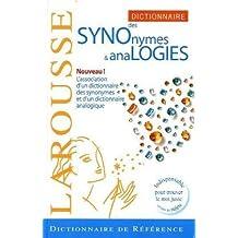 DICTIONNAIRE DES SYNONYMES ET ANALOGIES (SYNOLOGIQUE)