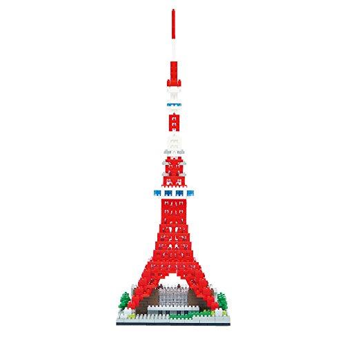 nanoblock Tokyo Tower Deluxe Edition NB-018 by Kawada (Image #3)
