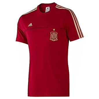 run shoes superior quality sneakers for cheap adidas - Tee Shirt Espagne FEF Tee Rouge F85747: Amazon.fr ...