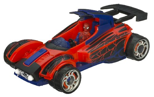 """Spider-man Attack Cruiser with 3.75"""" Action Figure"""