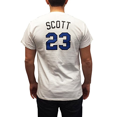 Nathan Scott #23 White One Tree Hill Ravens Jersey TV Mens Adult Costume (Nathan Scott One Tree Hill)
