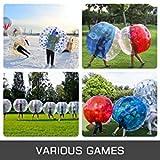 Happybuy 2PCS Inflatable Bumper Ball 5 FT / 1.5M