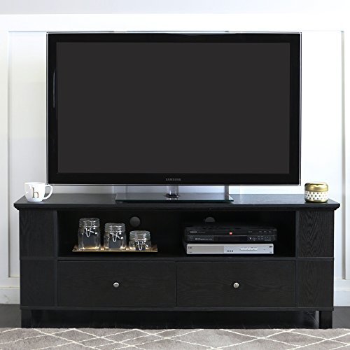 Black Large Tv Stand - 9