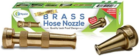 "Brass Hose Nozzle 1/"" DN 25mm AG for Foot Valve Suction Hose Pressure Hose L"