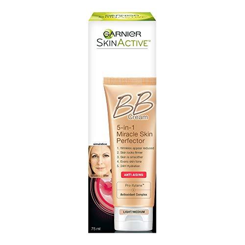 41ZBsqb2sHL - Garnier SkinActive BB Cream Anti-Aging Face Moisturizer, Light/Medium, 2.5 Ounce