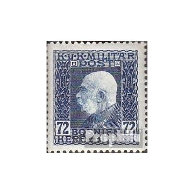 österr.-de campagne serbie 16 1914 bosnie avec surcharge (Timbres pour les collectionneurs)