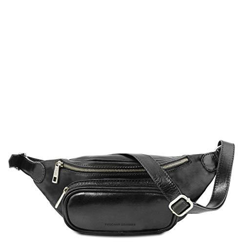 Negro Piel Miel Leather En Riñonera Tuscany 7Pxw0YXqw