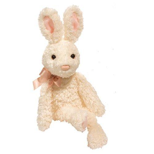 Peony Ivory Bunny Large by Douglas - Ivory Bunny