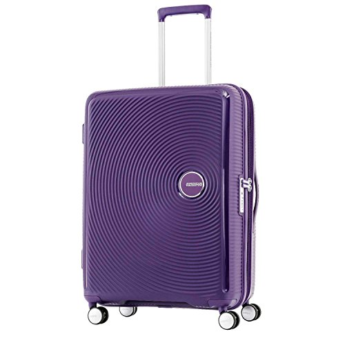American Tourister Curio Spinner Hardside 20, Purple